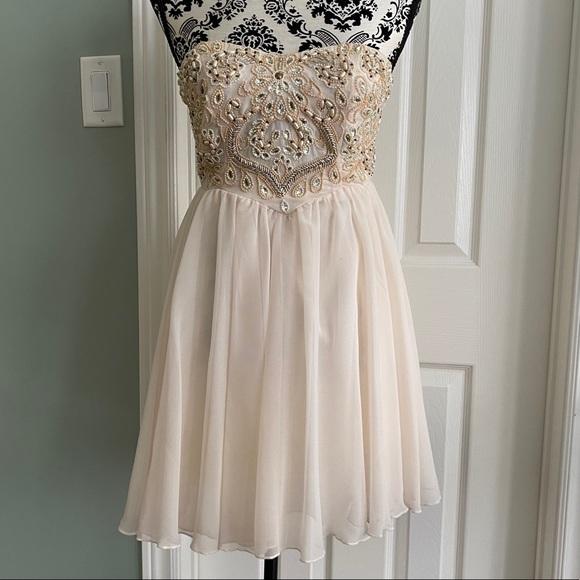 TOPSHOP TFNC London Mini Dress size SMALL